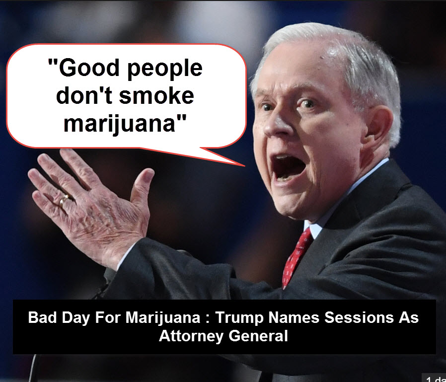 SESSIONS ON MARIJUANA