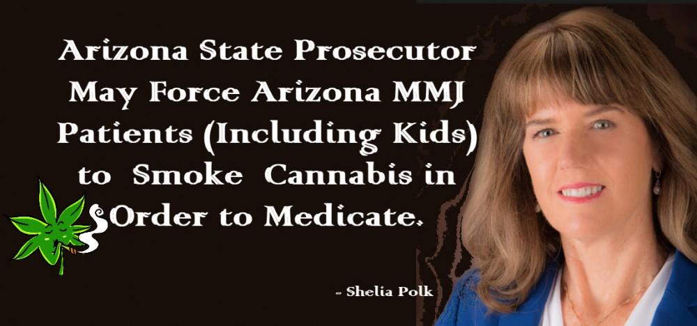 shelia polk marijuana