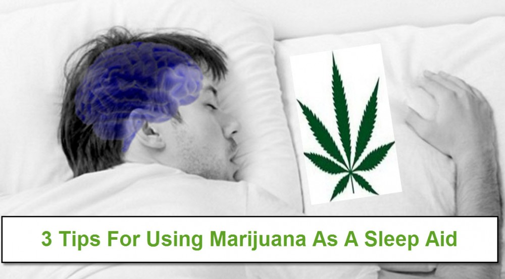 SLEEPING WITH MARIJUANA