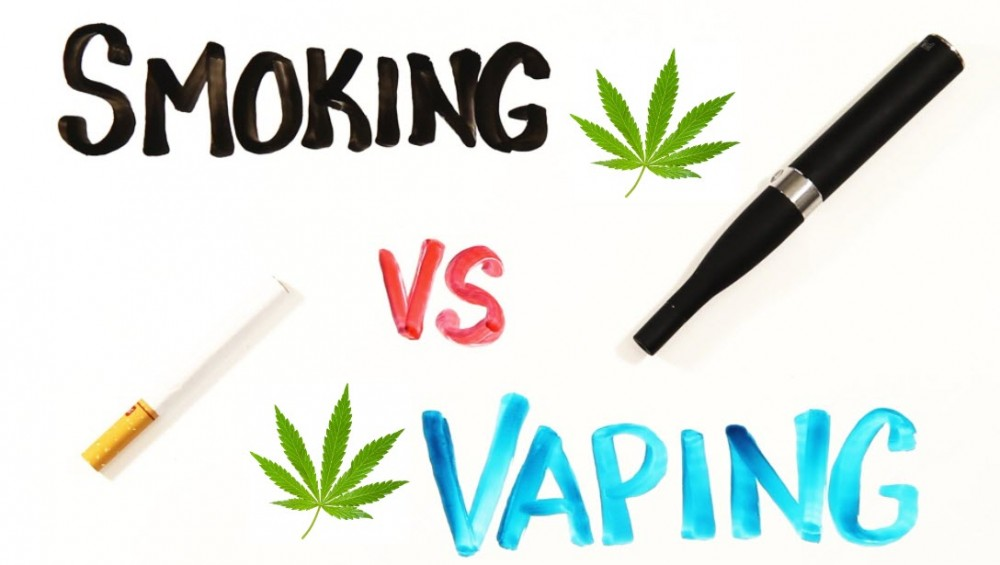 SMOKING OR VAPING WEED IS BEST