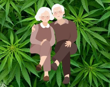getting high with your grandparents