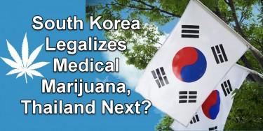 SOUTH KOREA LEGALIZES MEDICAL MARIJUANA