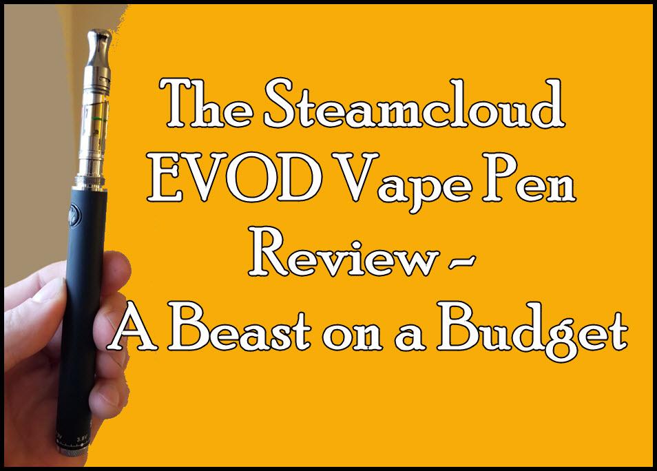 steamcloud evod vape pen