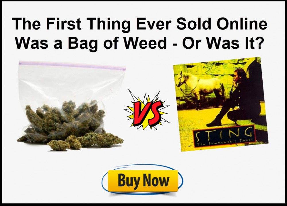 sting cd or a bag of weed