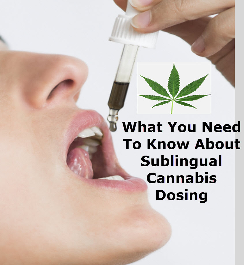 SUBLINGUAL DOSING CANNABIS