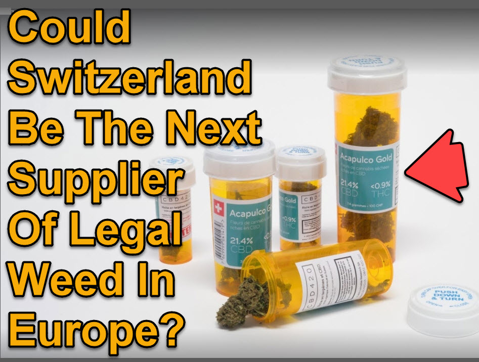 SWITZERLAND CANNABIS EXPORTER