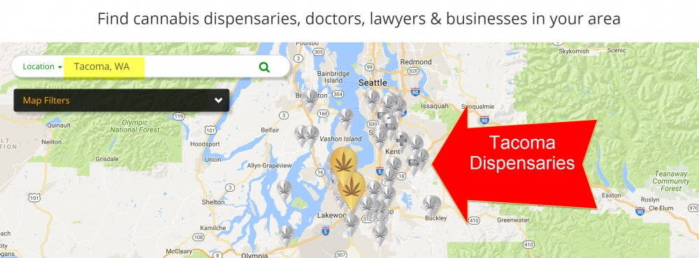 TACOMA DISPENSARIES NEAR ME