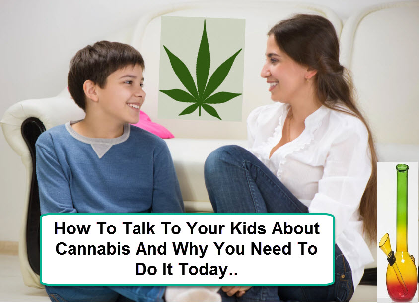 parents talk to kids about pot