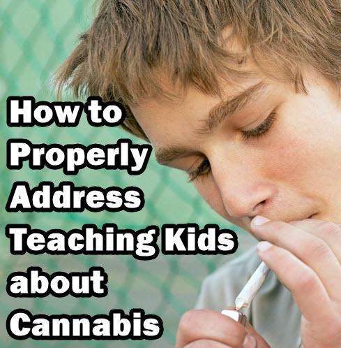 teaching kids about cannabis