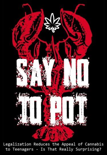 TEENS SAY NO TO POT