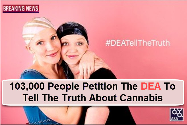 DEA TRUTH ABOUT CANNABIS PETITION