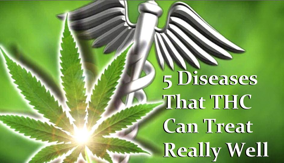 diseases that thc treats