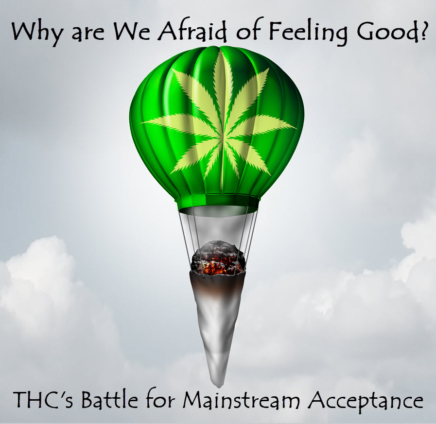 THC STRUGGLES TO BE ACCEPTED MAINSTREAM