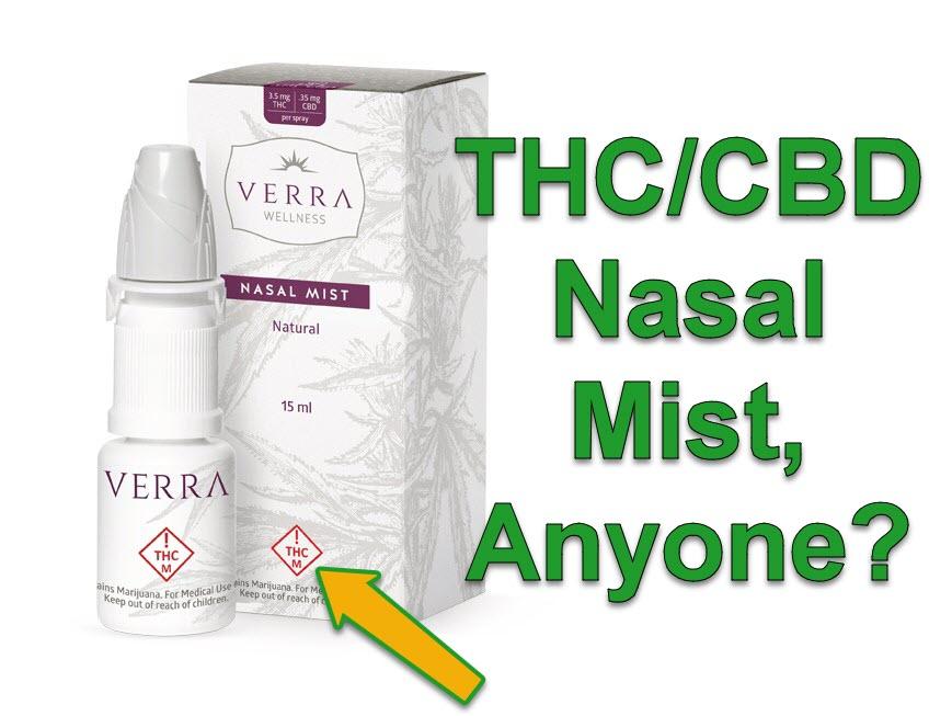 thc cbd nasal mist