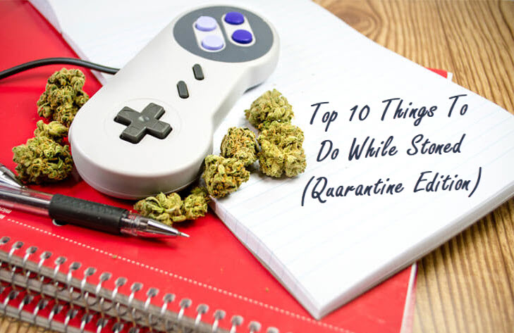 things to do when stoned
