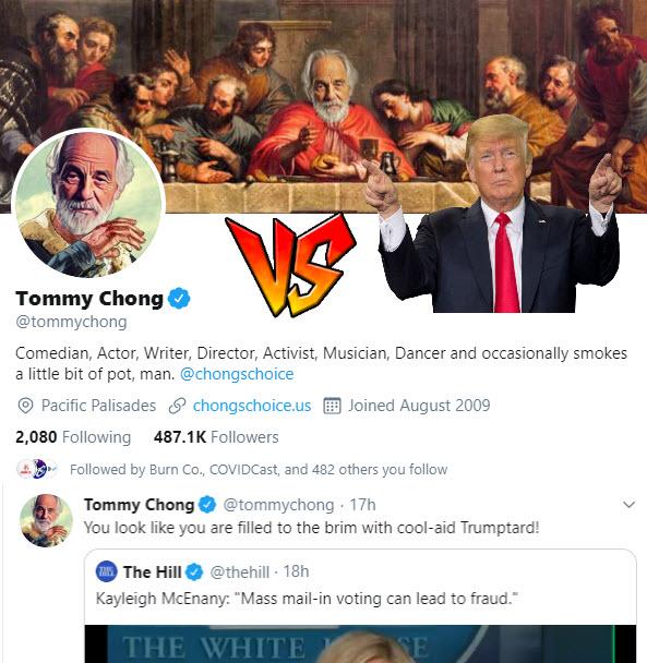 Tommy Chong and Trump