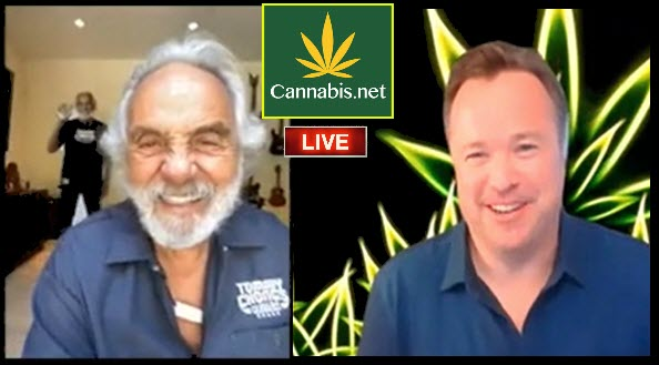 TOMMY CHONG CHEECH MARIN DISPENSARY INTERVIEW