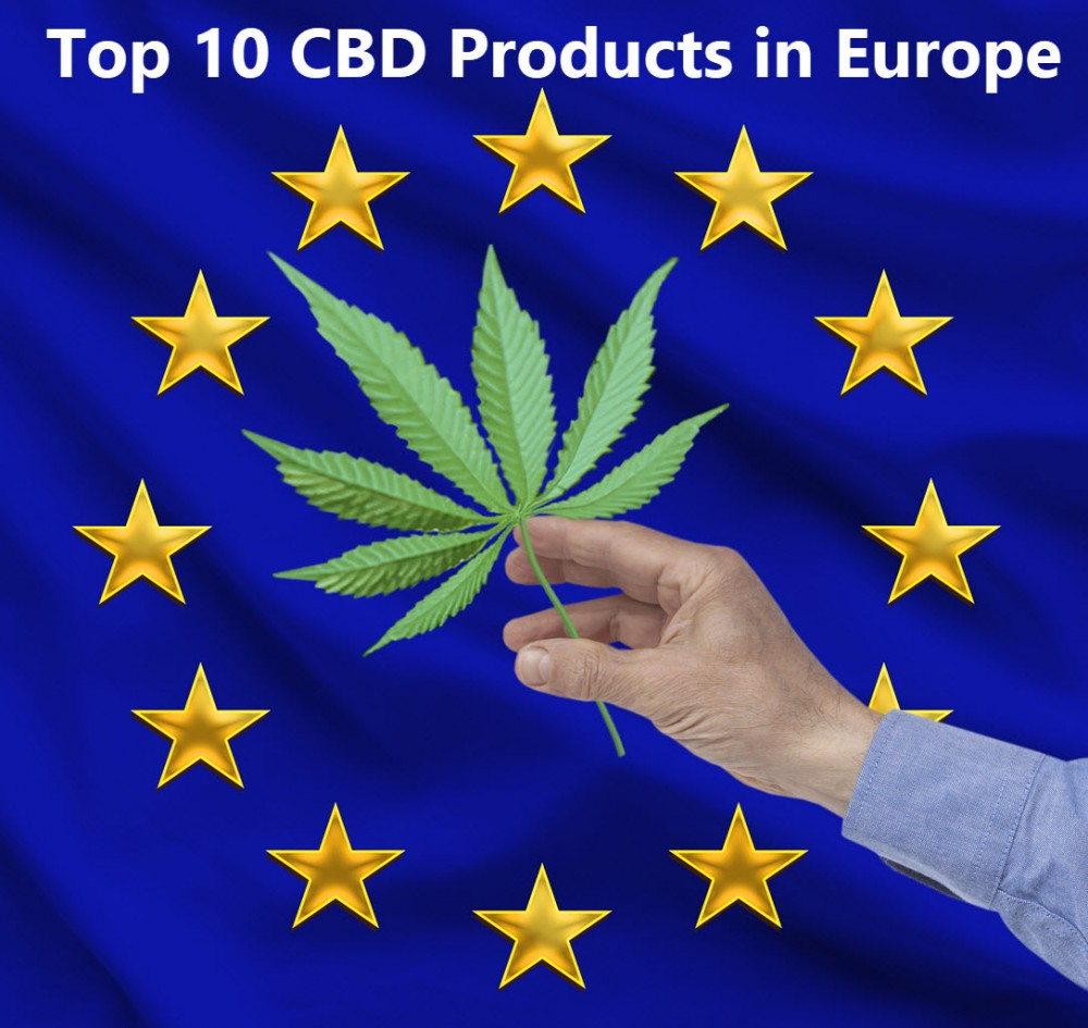 TOP CBD PRODUCTS IN EUROPE