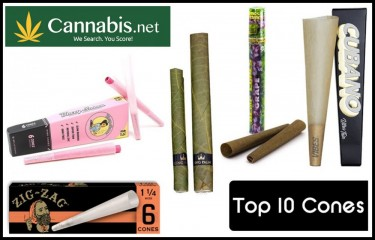 TOP 10 CONES AND PREROLLS ON THE MARKET
