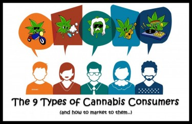 9 TYPES OF CANNABIS CONSUMERS
