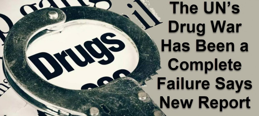 undrugwarfailure - The Futility of the War on Drugs in 2020