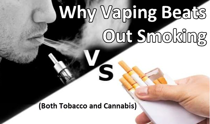 why you should be vaping and not smoking