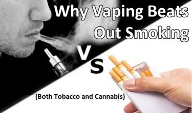 IS VAPING HEALTHIER THAN SMOKING