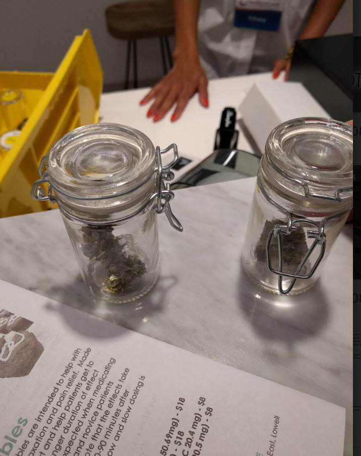 vials of cannabis patriot care