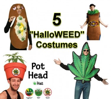 HALLOWEEN MARIJUANA COSTUMES