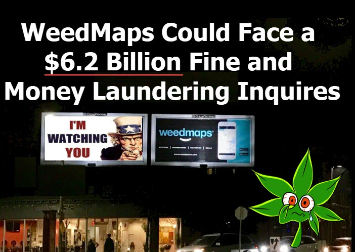 Weedmaps fines