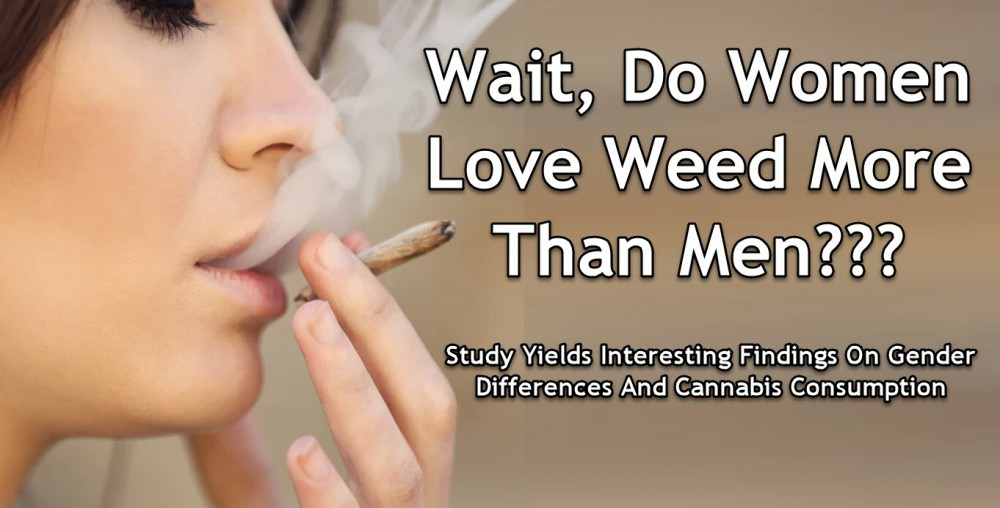 women love cannabis more than men