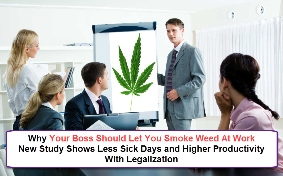 work and cannabis use