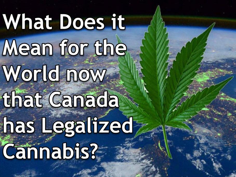 CANADA LEGALIZES MARIJUANA NOW WHAT