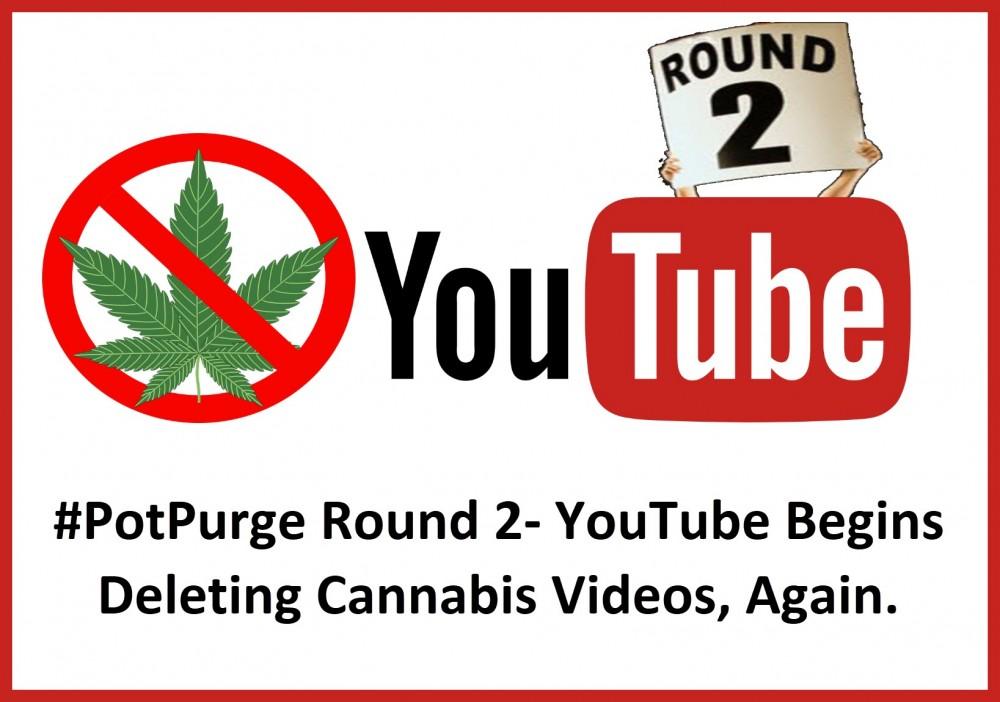 YouTube cannabis videos banned