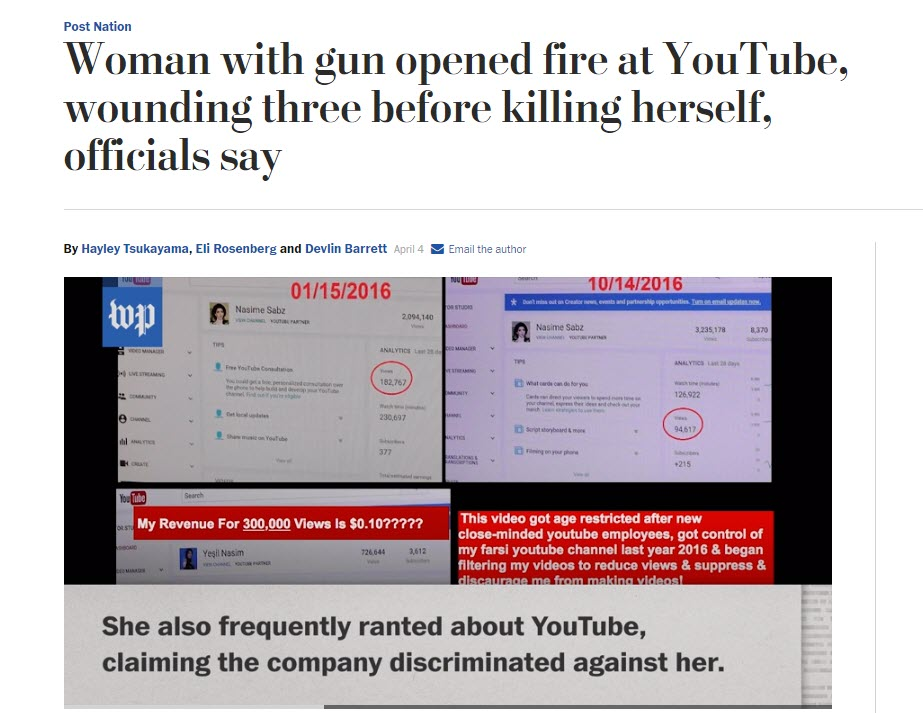 youtube violence