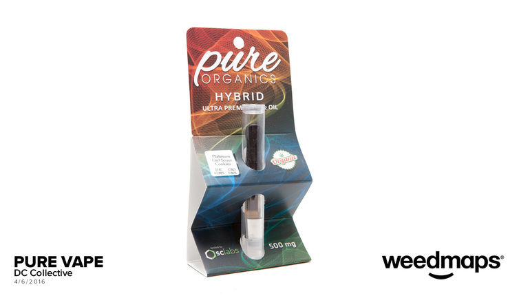 Pure Organics Cartridge | Concentrate | DC Collective