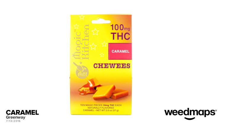 Magic kitchen caramel chews 10mg 10pk edible for Magic kitchen menu