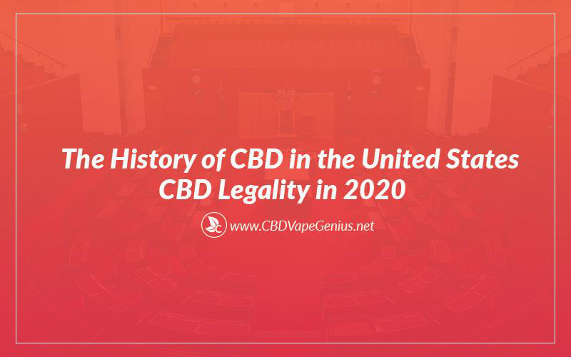 The History of CBD in the United States CBD Legality in 2020